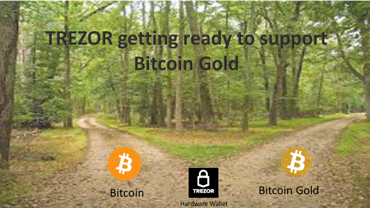 TREZOR getting ready to support Bitcoin Gold