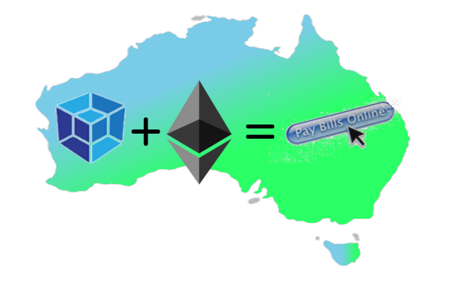 Ethereum for utility bills payment in Australia