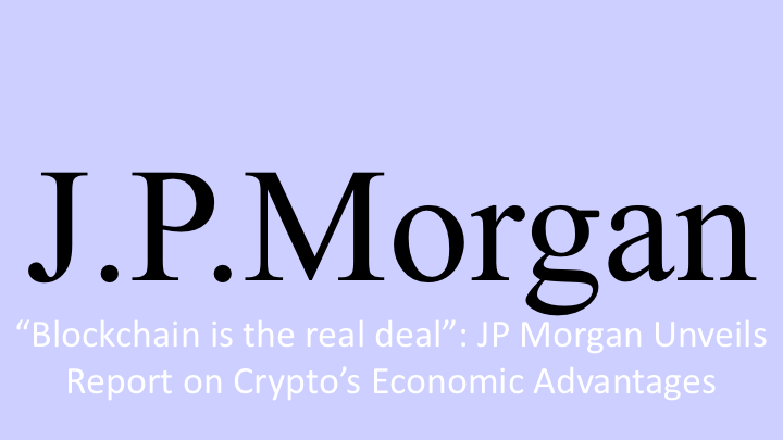 JP Morgan Looks to Crypto's Future with Optimism