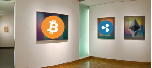 Cryptocurrency accepted in Mayfair Art Gallery