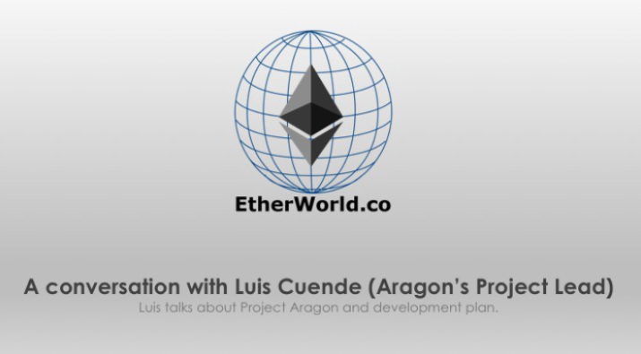 A conversation with Luis Cuende (Aragon's Project Lead)
