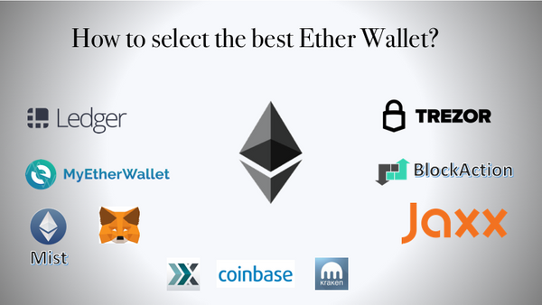 How to select the best Ether wallet?