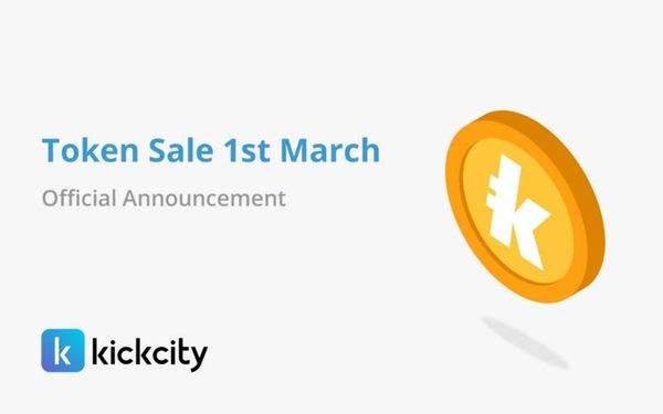 KickCity Moves Crowdsale Date to March 1st 2018