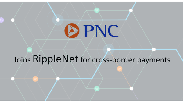 PNC Bank joins RippleNet for cross-border payments