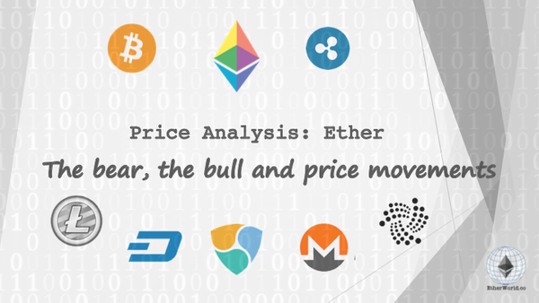 Ether Price Analysis: The bear, the bull and Price Movements