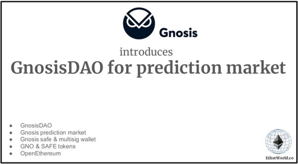 Gnosis introduce GnosisDAO for prediction market