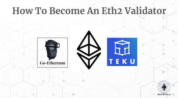 How To Become An Eth2 Validator On Teku